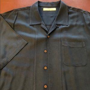 Tommy Bahama Men's XL Silk button down shirt